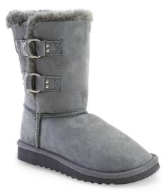 Side Buckle Sherpa Boot - Aeropostale