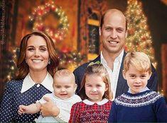 Merry Christmas from princess Kate,Princess Charlotte,Prince George,Prince George and Prince William William Y Kate, Prince William And Catherine, William And Kate Children, Baby Prince, Prince And Princess, Lady Diana, Duke And Duchess, Duchess Of Cambridge, Kate Middleton