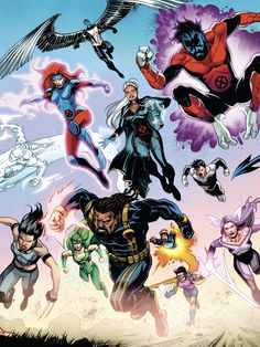 Marvel Cartoons, Marvel Xmen, Marvel Comics Art, Marvel Comic Books, Comic Movies, Marvel Characters, X Men Costumes, Scarlet Witch Marvel, Mundo Comic