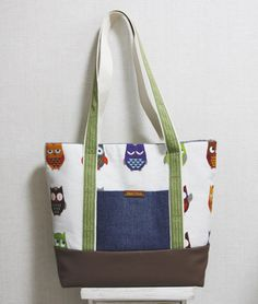 Easy step to step owl texture bag tutorial.