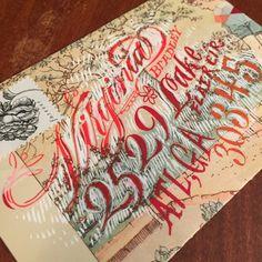 Anne Elser: Handmade Envelopes » Anne Elser is the SHIT