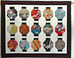 oriental fabric quilt patterns - Google Search