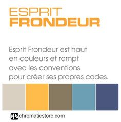 Esprit Frondeur est haut en couleurs et rompt avec les conventions pour créer ses propres codes. www.chromaticstore.com