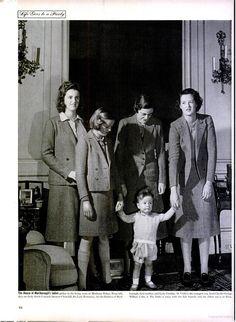 Consuelo's daughter-in-law, Alexandra and grandchildren.
