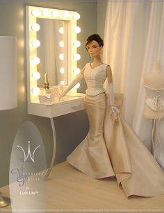 Fashion Royalty Doll, i like the idea with the lights