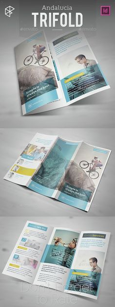 Andalucia Trifold Brochure Template InDesign INDD. Download here: http://graphicriver.net/item/andalucia-trifold/15312654?ref=ksioks