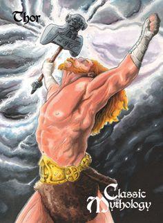 Thor Base Card Art - Francois Chartier by *Pernastudios on deviantART