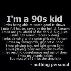 90s KID - Love this!