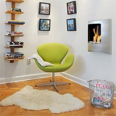 It is amazing how adding just a few colorful decorating items can transform a dull apartment into a bright and vivid space!