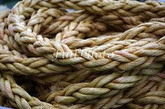 Macro Ropes Digital File Photography  Nautical  Close-Up