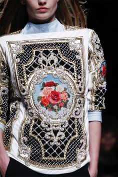 Balmain takes Rococo and makes it wearable