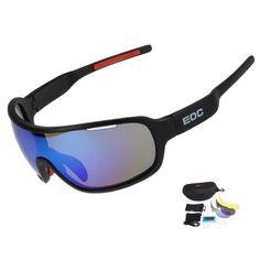 3916578628d COMAXSUN Polarized Glasses Outdoor Sports Sunglasses UV 400