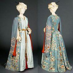Kimono dressing gown, 1885