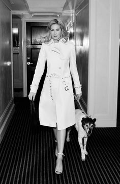 Kelly Rutherford's official photograph to launch her jewellery collection for dog lovers, available at Mungo & Maud