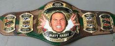 Matt Hardy Custom ROH World Heavyweight Championship Belt