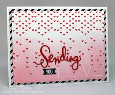 Love this card by Amy Rysavy using brand new Simon Says Stamp Exclusives.