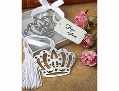 Pack of 6 Bookmark Crown Collection Fairy Tale Favours…