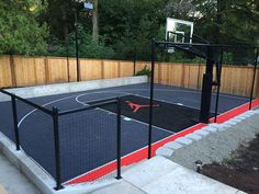 Our Court Builder™ app will let you build the backyard basketball court of your dreams. Use Court Builder™ to design a tennis court, volleyball court and more.