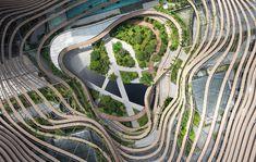 Green Heart | Marina One Singapore / ingenhoven architects, © HG Esch