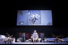 Sydney Theatre Company staging with projection