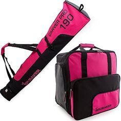 acc2c87aaf BRUBAKER Superfunction Limited Edition Combo Ski Boot Bag and Ski Bag for 1  Pair of Ski
