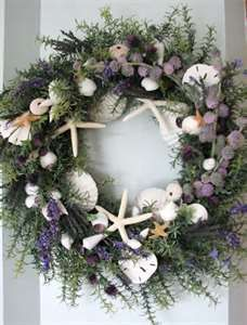 Image Search Results for seashell wreath