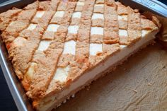 smacznie, fit i zdrowo Pastry Art, Cake Bars, Polish Recipes, Apple Pie, Banana Bread, Vegetarian Recipes, Recipies, Cheesecake, Food And Drink