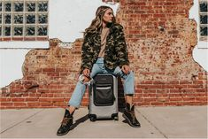 Image by Zack Rawles feat. Toiletry Bag, Carry On, Leather Bag, Overalls, Winter Jackets, Silver, Image, Fashion, Winter Coats