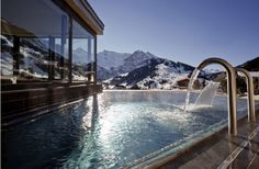 The Cambrian Hotel in Adelbowen Switzerland