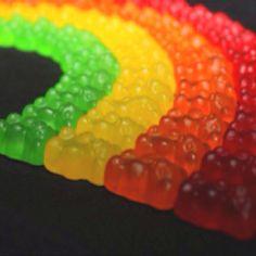 Gummy bear rainbow