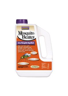 Natural ingredients! Mosquito Beater. sprinkle on lawn to repel the pesky buggers