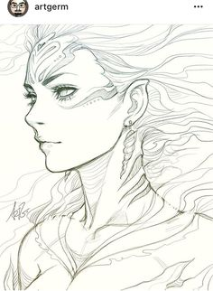 Gorgeous lineart.
