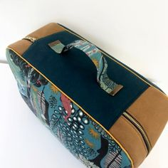 patron valise nouméa (12) Couture, Sleepover Party, Retro Look, Suitcase, Boss, Haute Couture