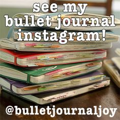 The Post To (Maybe?) End All Bullet Journal Posts. | zoot