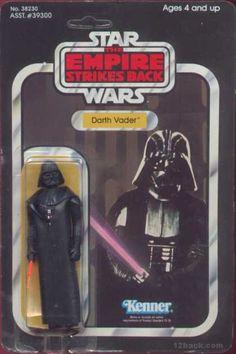 Action Figure Boxes - Star Wars: Darth Vader