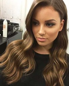 Long Hair Ombre Color