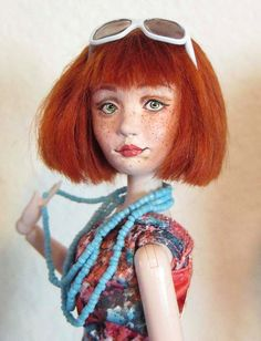 Wildflower Dolls Misty 4 OOAK Doll Only. by WildflowerDolls, $99.95