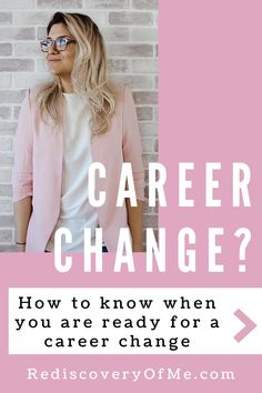 Fed up at work? Looking for a new career? How do you know when you are ready for a career change? Find out how to switch careers in your 20s, 30s, 40s or even 50s. Don't get stuck in a job you hate, learn more about changing careers. Interview Techniques, Job Interview Questions, Job Interview Tips, Career Change, New Career, Career Advice, Unhappy At Work, Hating Your Job, Wear You Out