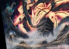 Naruto Tailed Beast Mode | naruto-chapter-608-Naruto, Kurama,Kyubi