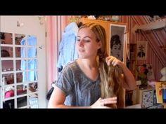 Fishtail Braid - YouTube Hair Tutorial