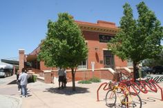 The Fort Collins Bike Library is located in the historic Colorado    Southern Depot. Fort 25c3590df