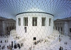 Great Court at the British Museum   Gallery   Projects   Foster + Partners