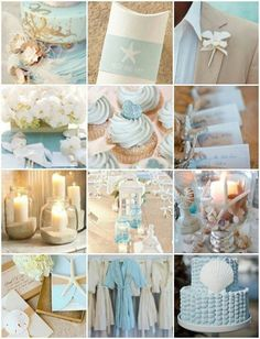 beach wedding color schemes ideas st bridal world wedding shades blue summer wedding color ideas beach weddings - 14 Wedding Themes, Wedding Events, Our Wedding, Dream Wedding, Wedding Decorations, Wedding Parties, Wedding Vows, Wedding Blue, Stage Decorations