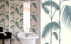 papier peint palm leaves cole and son