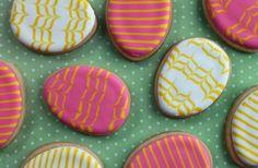 easter egg sugar cookies   Easter egg sugar cookie designs
