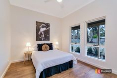 Black & white #bedroom #forsale #auction #stpeters #adelaide #blackandwhite #ljhookerkensington