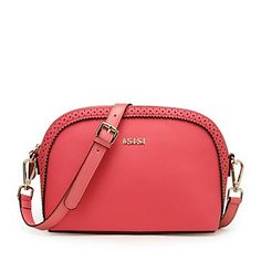 Women's Hollow schelpen tas leer mode Crossbody Bag – EUR € 56.92