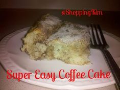 I got the following recipe from my grandma and besides this coffee cake recipe being super easy, it's also super yummy!