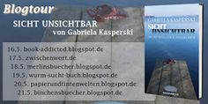 Merlins Bücherkiste: [Blogtour] Tag 3 - Sicht Unsichtbar -
