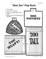 pinterest/preschool zoo   Dear Zoo'' Flap Book Printable (Pre-K - 1st Grade) - TeacherVision ...
